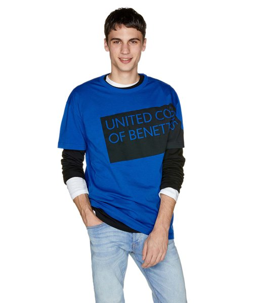 BENETTON (mens)(ベネトン(メンズ))/ヘリテージロゴ半袖Tシャツ・カットソー/19P3U53J13D2_img22