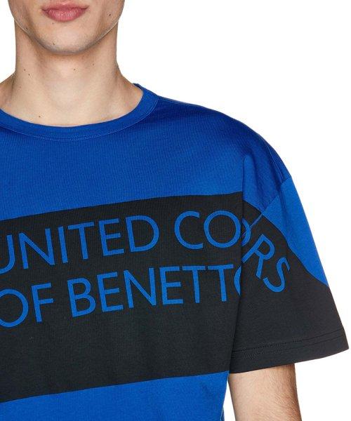 BENETTON (mens)(ベネトン(メンズ))/ヘリテージロゴ半袖Tシャツ・カットソー/19P3U53J13D2_img25