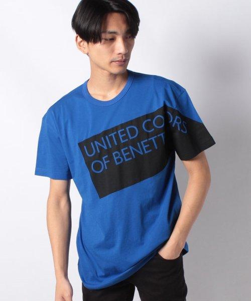 BENETTON (mens)(ベネトン(メンズ))/ヘリテージロゴ半袖Tシャツ・カットソー/19P3U53J13D2_img26
