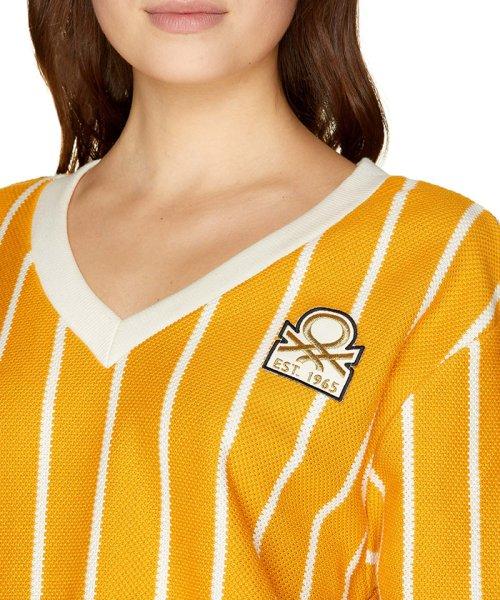 BENETTON (women)(ベネトン(レディース))/ストライプピッチ長袖Tシャツ・カットソー/19P3AYEE4210_img25