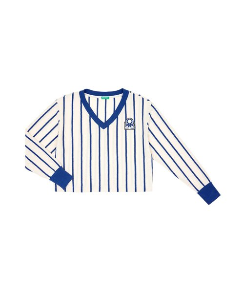 BENETTON (women)(ベネトン(レディース))/ストライプピッチ長袖Tシャツ・カットソー/19P3AYEE4210_img31