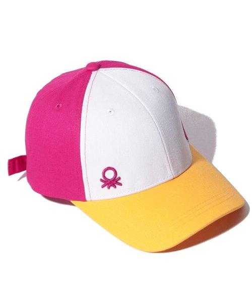 BENETTON (women)(ベネトン(レディース))/コットンマルチカラーキャップ・帽子/19P6G0PD41K9_img02