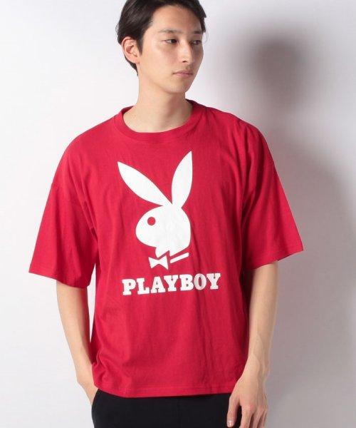 MARUKAWA(マルカワ)/【別注】【PLAYBOY】プレイボーイ ビッグシルエット アイコンロゴ 半袖Tシャツ/0112280947_img07