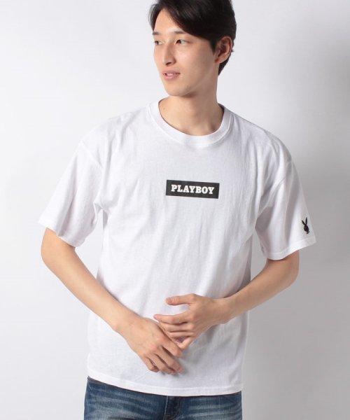 MARUKAWA(マルカワ)/【PLAYBOY】プレイボーイ ビッグシルエット ボックスロゴ 半袖Tシャツ/0112280952_img08
