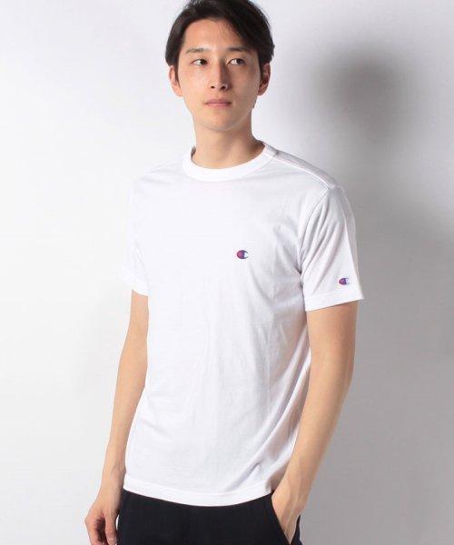 MARUKAWA(マルカワ)/【Champion】チャンピオン 無地 ワンポイント 半袖Tシャツ/0112370224_img10