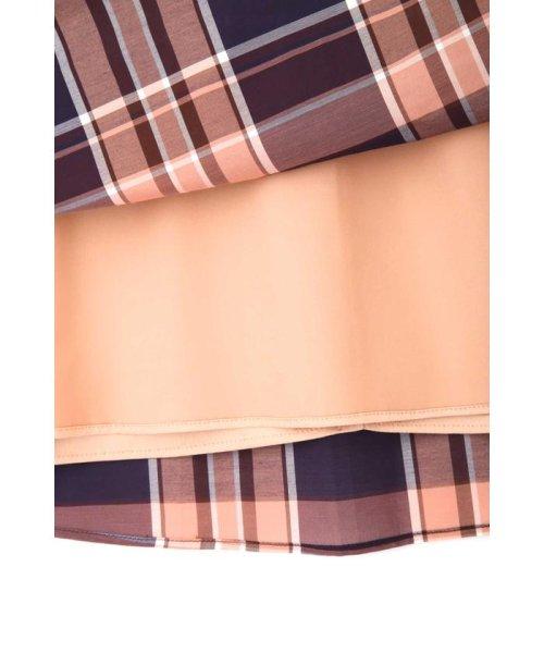 PROPORTION BODY DRESSING(プロポーション ボディドレッシング)/★◆シアーマドラスチェックイレヘムスカート/1219120415_img11