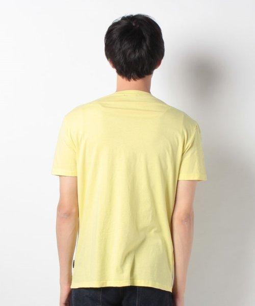 SISLEY(シスレー(メンズ))/オーガニックコットンプリント半袖Tシャツ・カットソー/19P3TM4O12F7_img21