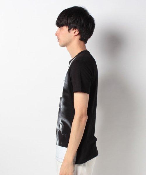 SISLEY(シスレー(メンズ))/スラブグラフィックプリント半袖Tシャツ・カットソー/19P3APUO12EI_img08