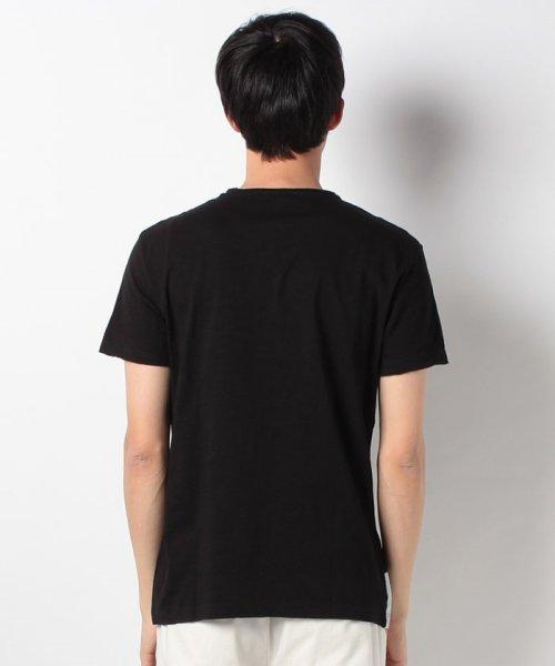 SISLEY(シスレー(メンズ))/スラブグラフィックプリント半袖Tシャツ・カットソー/19P3APUO12EI_img09