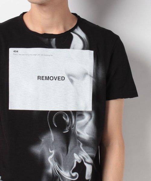 SISLEY(シスレー(メンズ))/スラブグラフィックプリント半袖Tシャツ・カットソー/19P3APUO12EI_img10