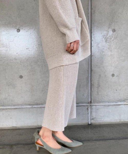 ROPE' mademoiselle(ロペ マドモアゼル)/和紙混ロングニットタイトスカート/GWC29050_img15