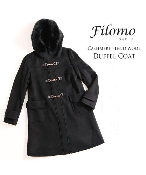 Filomo(フィローモ)/[Filomo] ウール ダッフルコート ミドル ファー レディース/02000194r_img05