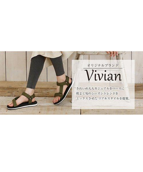 Vivian(ヴィヴィアン)/ベルクロスポーツペタンコサンダル/V0080SMI_img19