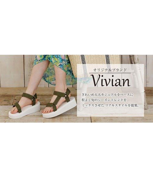Vivian(ヴィヴィアン)/ベルクロスポーツ厚底サンダル/V0090SMI_img19