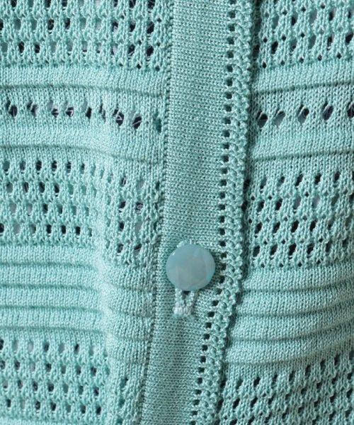 Leilian(レリアン)/【VITTORIO】透かし編みニットジャケット/0900201_img09