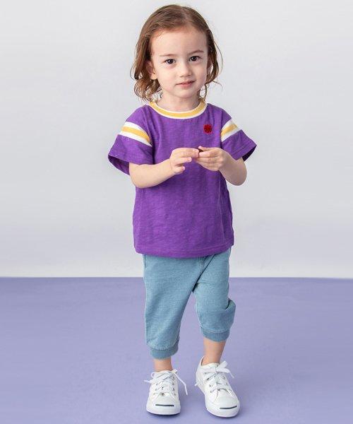 petit main(プティマイン)/ボール刺しゅうナンバリングTシャツ/9591230_img01