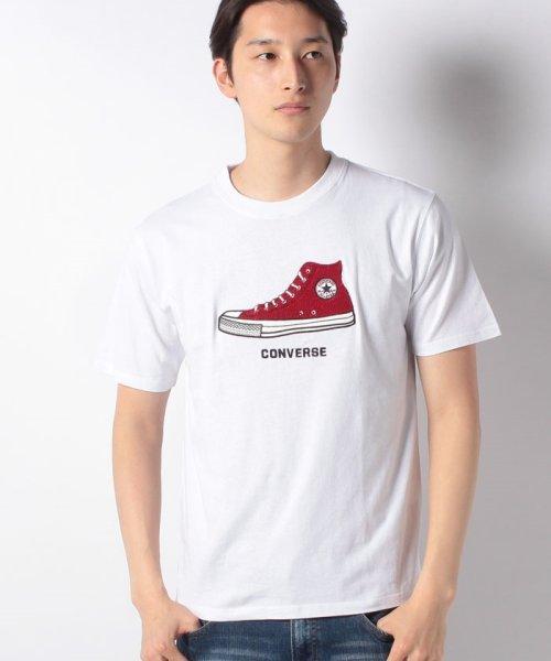 MARUKAWA(マルカワ)/【CONVERSE】コンバース シューズサガラ刺繍 半袖Tシャツ/0112280939_img06