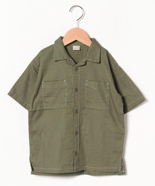 petit main(プティマイン)/オープンカラーシャツ/9591234_img05