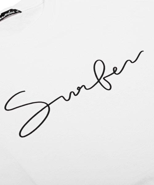 LUXSTYLE(ラグスタイル)/Surferロゴプリント半袖Tシャツ/pm-8179_img11