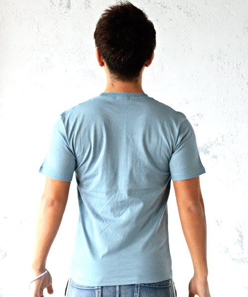 LUXSTYLE(ラグスタイル)/Californiaロゴプリント半袖Tシャツ/pm-8180_img01