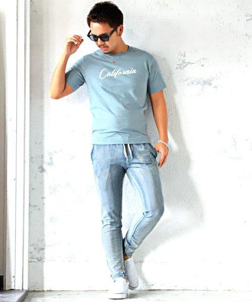 LUXSTYLE(ラグスタイル)/Californiaロゴプリント半袖Tシャツ/pm-8180_img03