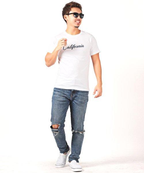 LUXSTYLE(ラグスタイル)/Californiaロゴプリント半袖Tシャツ/pm-8180_img05