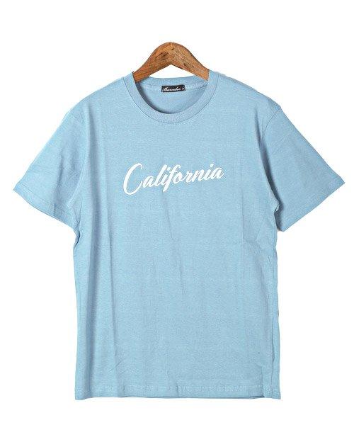 LUXSTYLE(ラグスタイル)/Californiaロゴプリント半袖Tシャツ/pm-8180_img06