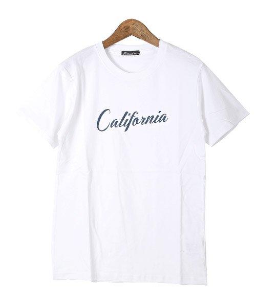 LUXSTYLE(ラグスタイル)/Californiaロゴプリント半袖Tシャツ/pm-8180_img08