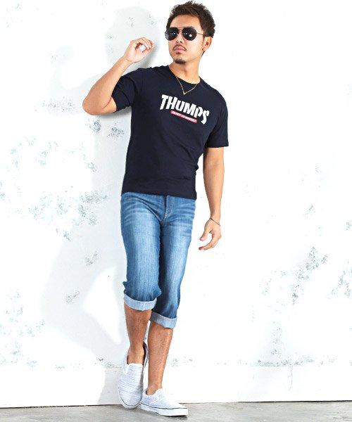 LUXSTYLE(ラグスタイル)/THUMPSロゴプリント半袖Tシャツ/pm-8189_img03
