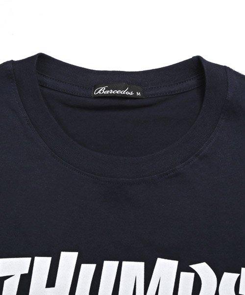 LUXSTYLE(ラグスタイル)/THUMPSロゴプリント半袖Tシャツ/pm-8189_img10