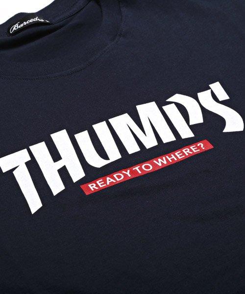 LUXSTYLE(ラグスタイル)/THUMPSロゴプリント半袖Tシャツ/pm-8189_img11