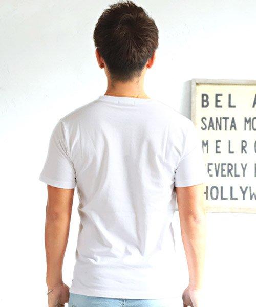 LUXSTYLE(ラグスタイル)/フロントマルチストライププリント半袖Tシャツ/pm-8191_img01