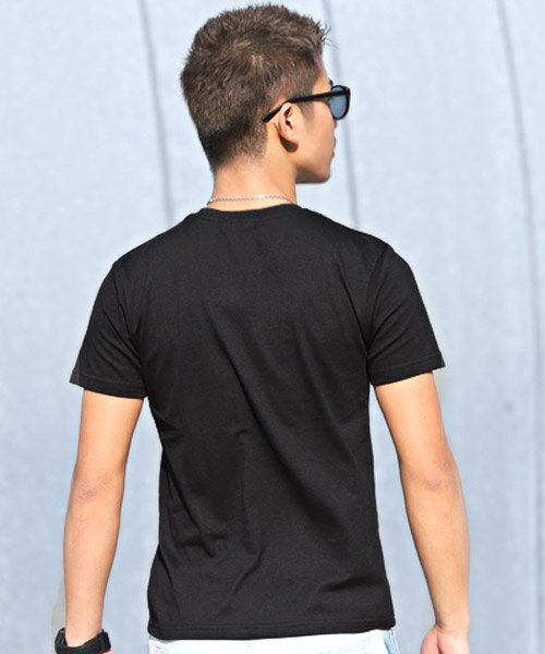 LUXSTYLE(ラグスタイル)/エンボス加工半袖Tシャツ/pm-8219_img01