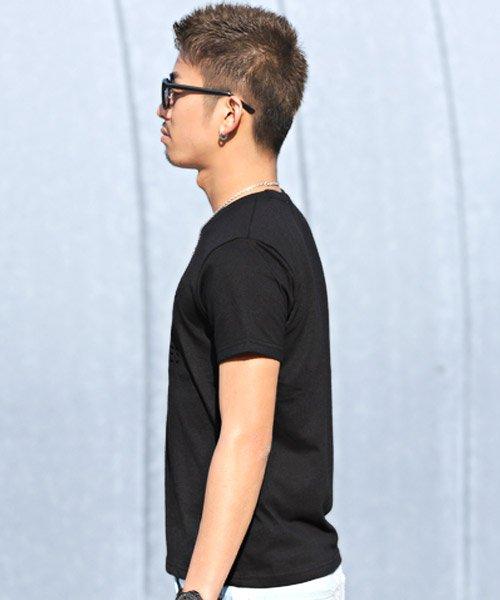 LUXSTYLE(ラグスタイル)/エンボス加工半袖Tシャツ/pm-8219_img02
