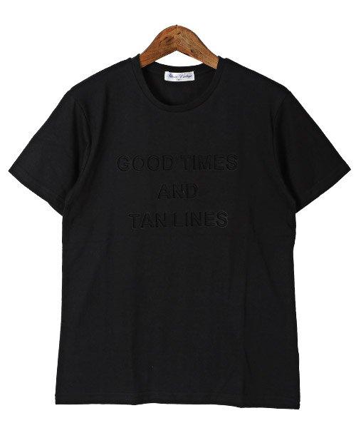 LUXSTYLE(ラグスタイル)/エンボス加工半袖Tシャツ/pm-8219_img05