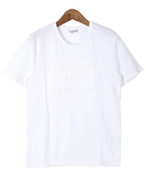 LUXSTYLE(ラグスタイル)/エンボス加工半袖Tシャツ/pm-8219_img06