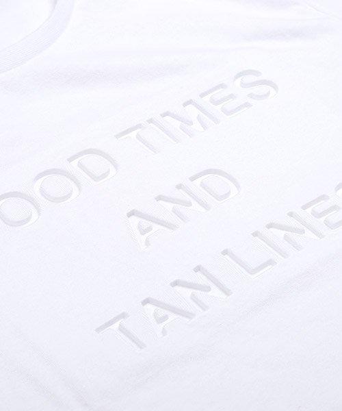 LUXSTYLE(ラグスタイル)/エンボス加工半袖Tシャツ/pm-8219_img08
