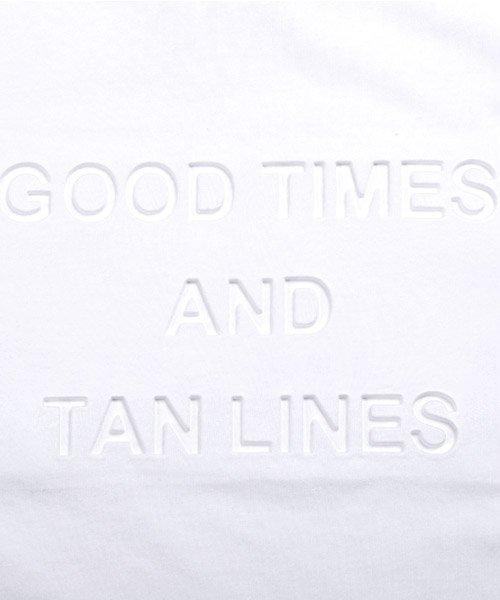 LUXSTYLE(ラグスタイル)/エンボス加工半袖Tシャツ/pm-8219_img10
