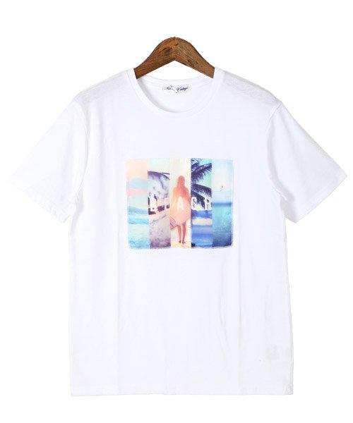 LUXSTYLE(ラグスタイル)/3D加工サマービーチフォトプリント半袖Tシャツ/pm-8223_img05