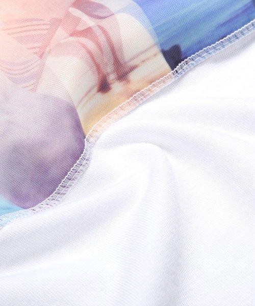 LUXSTYLE(ラグスタイル)/3D加工サマービーチフォトプリント半袖Tシャツ/pm-8223_img12