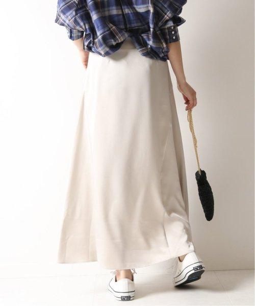 Spick & Span(スピック&スパン)/サテンイレギュラーヘムラインスカート◆/19060200511010_img21