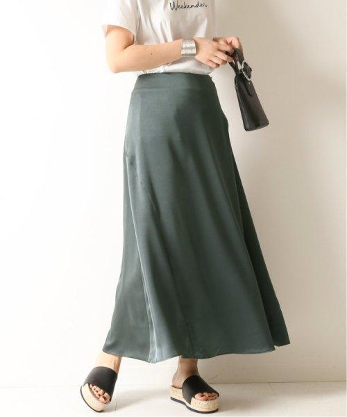 Spick & Span(スピック&スパン)/サテンイレギュラーヘムラインスカート◆/19060200511010_img24