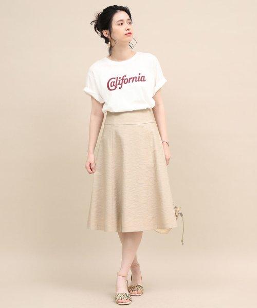 ROPE' mademoiselle(ロペ マドモアゼル)/ハイウエストパネルサーキュラースカート/GWC29060_img10