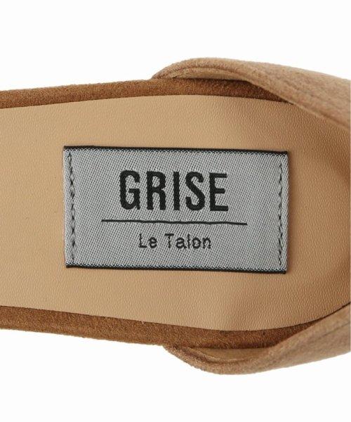Le Talon(ル タロン)/GRISE 5cmフトヒールアンクルサンダル/19194820158510_img07