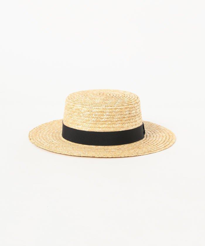 レイビームス  ストロー カンカン帽