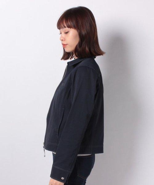 CARA O CRUZ(キャラ・オ・クルス)/襟付きジップアップジャケット/4900238_img01