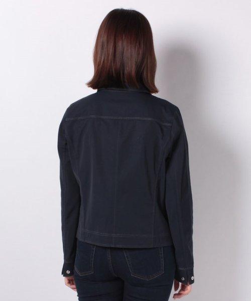CARA O CRUZ(キャラ・オ・クルス)/襟付きジップアップジャケット/4900238_img02