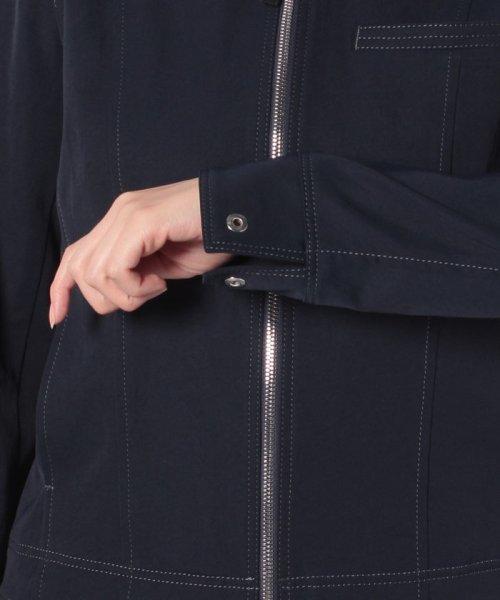 CARA O CRUZ(キャラ・オ・クルス)/襟付きジップアップジャケット/4900238_img05