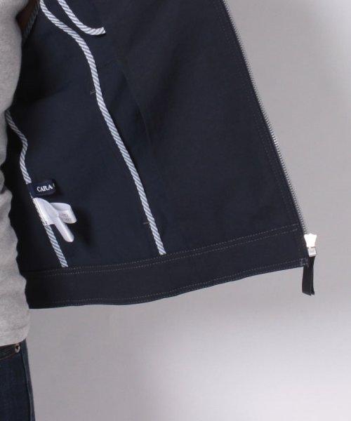CARA O CRUZ(キャラ・オ・クルス)/襟付きジップアップジャケット/4900238_img06