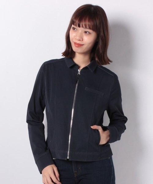 CARA O CRUZ(キャラ・オ・クルス)/襟付きジップアップジャケット/4900238_img07